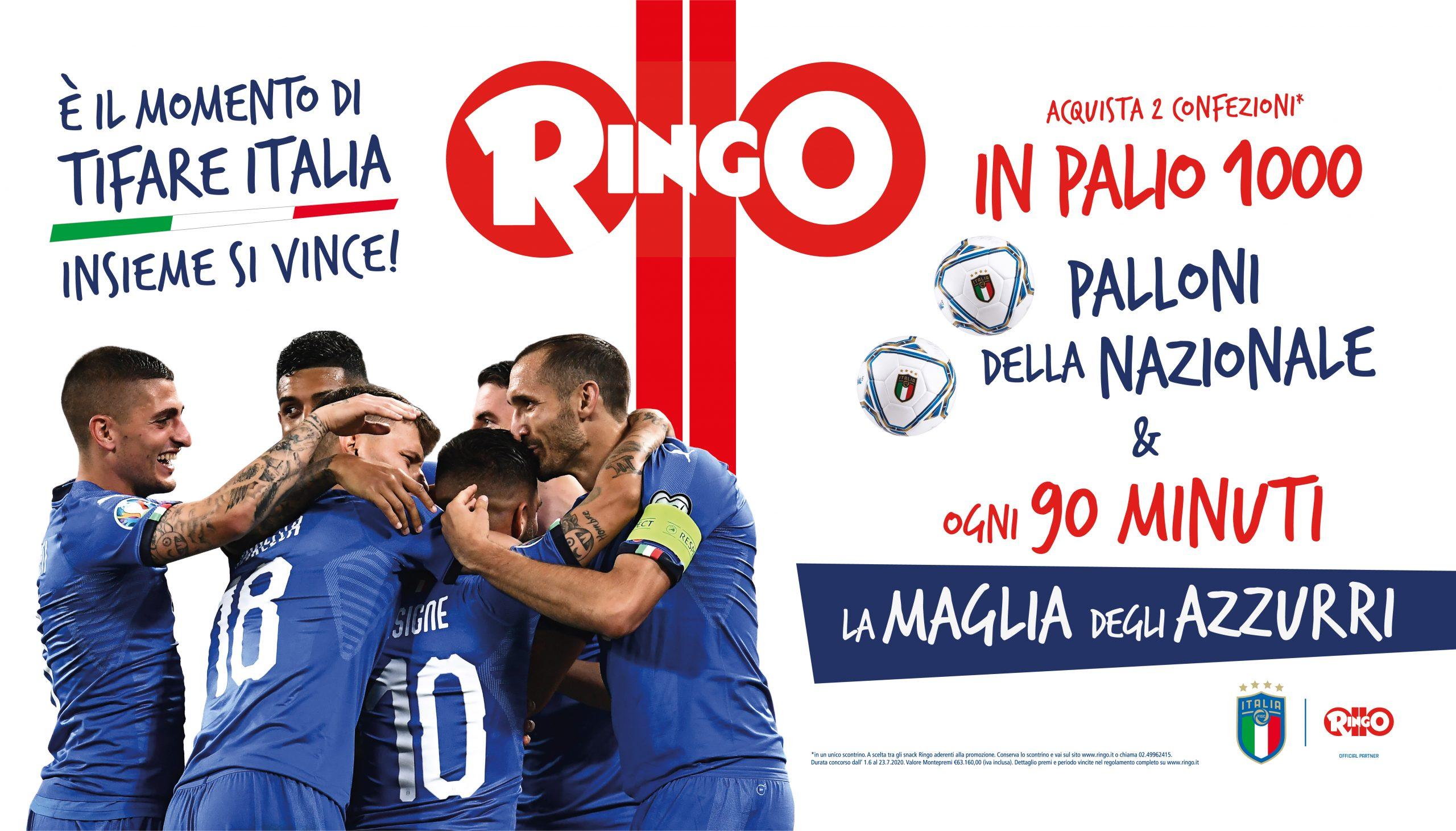 Una shopper activation per tifare Italia con Ringo