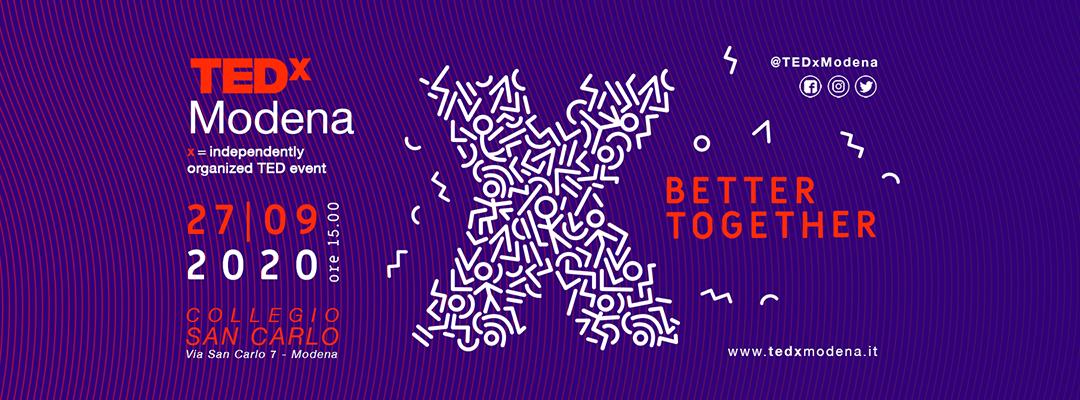 TEDxModena - 27 settembre 2020
